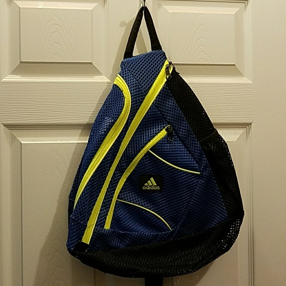 89a24d464276 adidas Other - Adidas mesh sling backpack